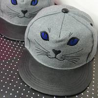 wholesale Animal Embroidery Cat snapbacks caps hip hop baseball cap snapback hats for women men 2014 new M62