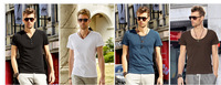 short sleeve T - Shirt for men with various colour