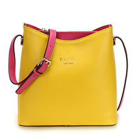 2014 New fashion candy color genuine leather female small shoulder bag brand women messenger bags