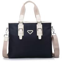 New 2014 Men Messenger Bags Oxford Waterproof Shoulder Bag Briefcase Duffel Bag Men Travel Bags Blue