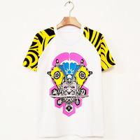 New 2014 Hip hop t shirt Lovers Short-sleeve tee Punk rock fashion dancewear women jazz clothes Dance