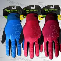 Hot Selling man female Protect looply mountain bike ride thin fleece Women long full finger gloves