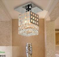 5Watt Porch Crystal Lamp Modern Brief Aisle Balcony Chandeliers-LED Bulbs Included