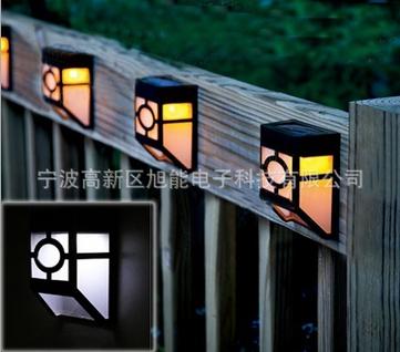 Garden decoration courtyard solar led light fence lights - Iluminacion exterior led solar ...