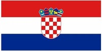 Croatia  National Flag polyester material in size 90cm x 150cm