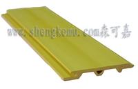 60 WPC plane board , 0 formaldehyde  wpc indoor  background wall board, waterproof and moistureproof