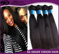 Soft Enjoy Hair 4pcs/lot Unprocessed Virgin Peruvian Human Hair Extensions Natural Straight Weave Can Color and Bleach