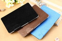 Original 3 colors  Leather Case for FNF Ifive Mini 3GS MTK6592 Octa Core Tablet PC 4 Colors with sleep and wake up fuction