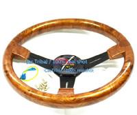 Free Shipping selling 14-inch mahogany steering wheel / upscale Nan Wood Racing Wheel / modified car steering wheel real shot