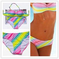 Fashion Sexy Bikini Set Push Up Swimwear 2014 New Fashion Free Shipping Swimsuit Brand Style Women Bikinis 034 model