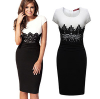 2015 New women Evening Casual  Dress sexy party dresses