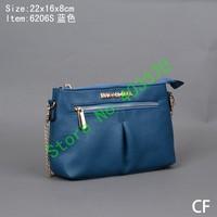 Free Shipping Classic White Brown casual women's handbag shoulder bag women's handbag 6206S handbag