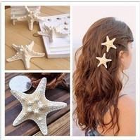 Sunshine jewelry store fashion starfish hair clip hair jewelry ( $10 free shipping )