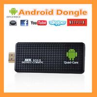 MK809 iii mini pc quad core android Quad core RK3188 android tv box stick 2GB RAM 8GB ROM 1.8GHz Max bluetooth wifimk809 iii