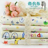 1PCS width 160CM*50CM cartoon designer fabric patchwork cotton fabric sewing handmade woven scrapbooking cloth tecidos tissue