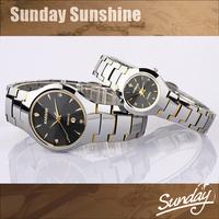 2014 new KASSAW tag sapphire diamond dive men full tungsten steel quartz watch women dress rhinestone watches wristwatches saat