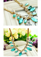European and American crystal necklace short paragraph Accessories