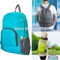 2014 New Arrive 20.5 Litre Fashion Men and Women Nylon Folding Travel Backpack