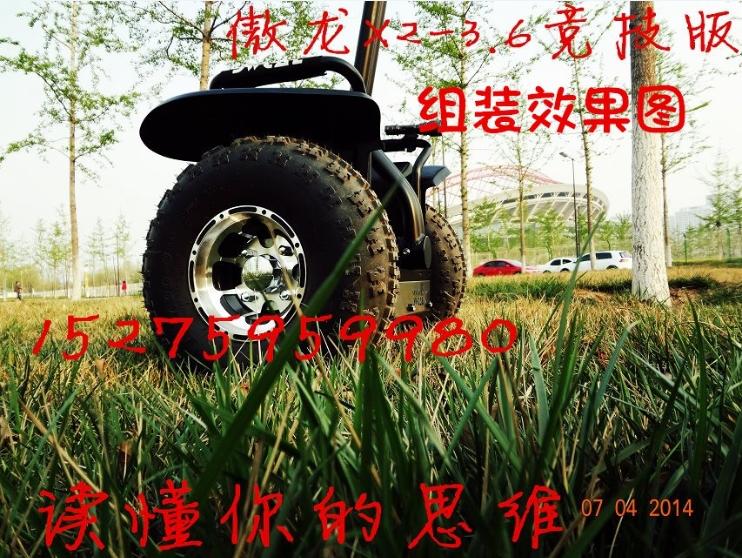 DIY blacne X2 I2 two self-balancing electric vehicle models thinking body feeling proud dragon tires off-road vehicles(China (Mainland))