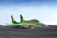 RTF Gree Version  / RC MIG-29 jet plane / Twin 70mm EDF 360 Degree Thrust Vectoring RTF JET plane /  Ready To Fly