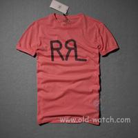 Rrl male big label  men's  o-neck short-sleeve T-shirt  3 color  1831