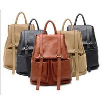 New Women Backpacks Designer Brand leather school bags for girl travel Hiking Backpacks Desigual Bag black free shipping