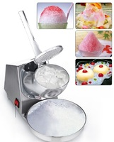 250w Electric Ice Crusher Shaver Machine Snow Cone Maker Shaved Ice