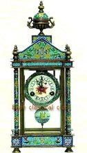 popular cloisonne clock