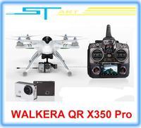 2014 Upgrade version WALKERA QR X350 Pro GPS Drone 6CH Brushless UFO DEVO F7 FPV Devo 7 Devo 10 RC quadcopter For Gopro  boy toy