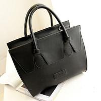 The European and American models new bright smile Babyface women handbag genuine leather women messenger bags 2014.