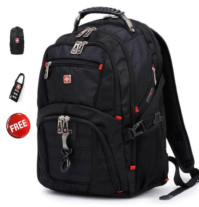 Free shipping Original Swisswin 15.6 inch laptop bag Multifunctional backpack 8112(China (Mainland))