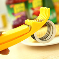 Free Shipping high quality banana slicer blade cut green bananas fruit knife cut