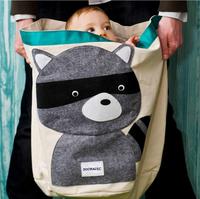 Cotton Green Kids Storage bucket portable folding waterproof casual baby toy storage bag laundry barrel
