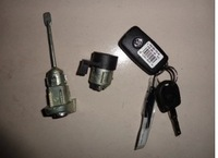new VW Bora lock cylinder (whole set) for door , ignition
