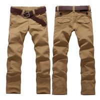 2014 men's casual pants - khaki trousers, men's casual long pants plus fertilizer XL Men ( size 28-46)