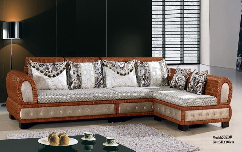 canap s d 39 angle en rotin promotion achetez des canap s d. Black Bedroom Furniture Sets. Home Design Ideas