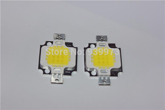 Free Shipping 2pcs/lot 10W 750LM LED chip high brightness Light Cold White /warm white High Power(China (Mainland))