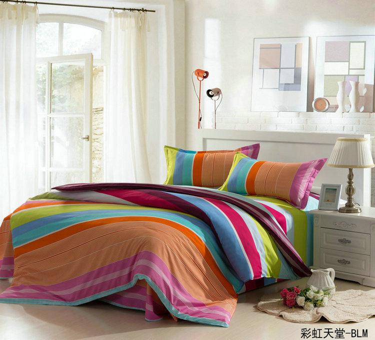 Ensembles frais couleur imprime housse de couette drap for Housse futon walmart