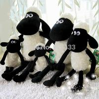 10pcs/lot Shaun the sheep cute plush toy Dolly the sheep lamb doll dolls little Timmy doll gift ideas