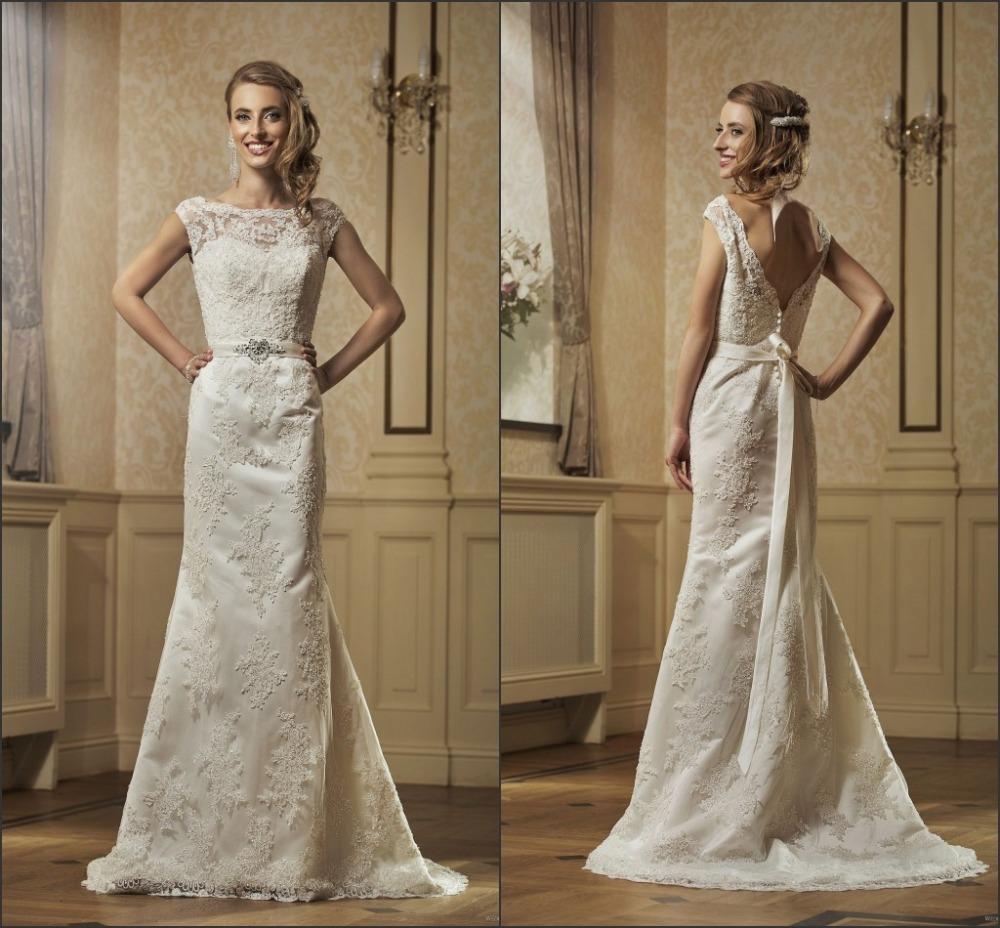 Online Get Cheap Vintage Wedding Dress Patterns Aliexpress