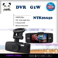 "100% Original G1W Car DVR Recorder Full HD 1080P 30FPS 2.7"" LCD with G-sensor+IR Night Vision H.264 Camera Recorder Freeshipping"