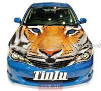 Animal  PVC Self-Adhesive Vinyl Car Hood Stickers Design For All Car Model