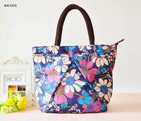 2014 new fashion cute waterproof bag handbag printed three small bag women leather handbags lunch box bag women messenger bags