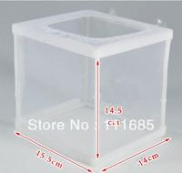 Free Shipping, Fish Hatchery Aquarium Breeding Hospital Trap Baby Box Small Size