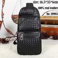 handmade 100% real leather men's backpacks brand designer men's travel bags 52212 casual men one shoulder bags