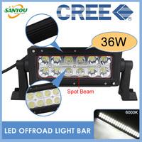 2014 New 1 Set 10-30 DC Led Off Road Light Bars 36W Offroad Light LED Driving Light BARs for Jeep