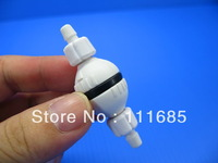 Free Shipping, 5Pcs Spring Stop Check Valve for Aquarium CO2 Diffuser Bubble Counter Air Pump