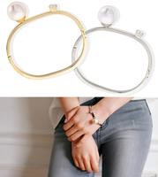 Bao style ! small pearl gem bracelet