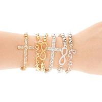 Love cross bracelet Rinestones Fashion for women 6 styles