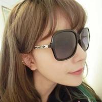 2014 New Arrival Vintage Imitation Leather Frame CC5210 retro fashion chain Women Sunglasses,Gafas de Sol